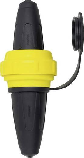 Schutzkontaktstecker Gummi 250 V Schwarz, Gelb IP44 Schneider Electric 535451