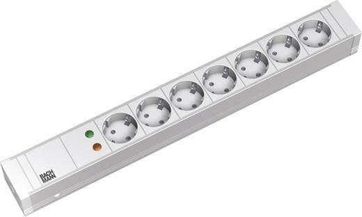19 Zoll Netzwerkschrank-Steckdosenleiste 1 HE Schutzkontaktsteckdose Bachmann Electric 333004