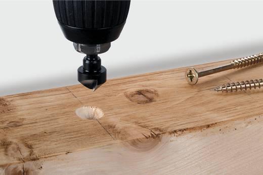 """Kegelsenker-Set 3teilig 12 mm, 16 mm, 19 mm Werkzeugstahl Wolfcraft 2584000 1/4"""" (6.3 mm) 1 Set"""