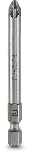 Kreuzschlitz-Bit PZ 2 Phoenix Contact SF-BIT-PZ 2-70 Werkzeugstahl zähhart, legiert E 6.3 5 St.