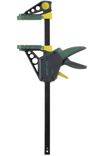 EHZ PRO 100-915 - Einhandzwinge Wolfcraft 3034000 Spannbereich:915 mm Ausladungs-Maße:100 mm