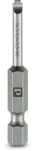 Schlitz-Bit 6.5 mm Phoenix Contact SF-BIT-SLS 0,9X6,5-50 Werkzeugstahl zähhart, legiert E 6.3 5 St.