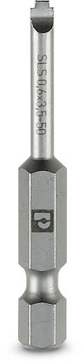 Schlitz-Bit 3.5 mm Phoenix Contact SF-BIT-SLS 0,6X3,5-50 Werkzeugstahl zähhart, legiert E 6.3 5 St.