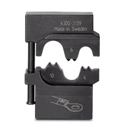 Crimpgesenk Unisolierte Kabelschuhe 4 bis 10 mm² Phoenix Contact CRIMPFOX-M RC 10/DIE 1212077 Passend für Marke Phoen