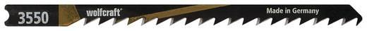 2 Stichsägeblätter Wolfcraft 3550000 Holz 2 St.