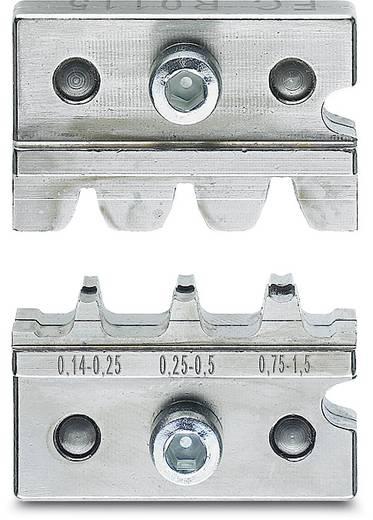 Crimpgesenk Flachsteckhülsen, Flachstecker 0.14 bis 1.5 mm² Phoenix Contact CF 500/DIE SC 1,5 1212241 Passend für Mar
