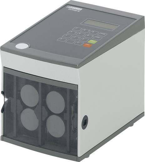 Ablängautomat Geeignet für Schrumpfschläuche, Leitungen, Rundkabel 0.08 bis 10 mm² 8 mm (max) Phoenix Contact CUTFOX 1