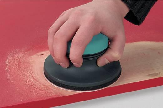 Wolfcraft 5869000 Schleifpapier für Handschleifer mit Klett, ungelocht Körnung 80, 120 (Ø) 125 mm 5 St.
