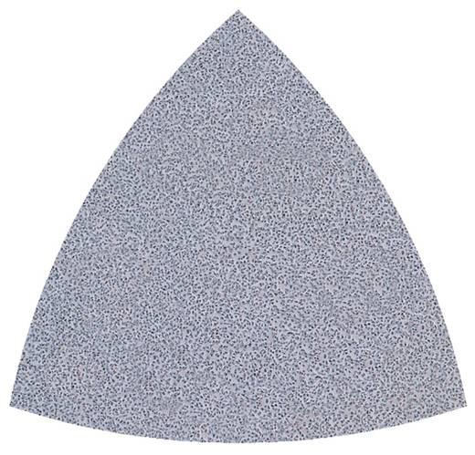 Schleifpapier für Handschleifer mit Klett, ungelocht Körnung 40, 60 Eckmaß 95 mm Wolfcraft 5887000 5 St.