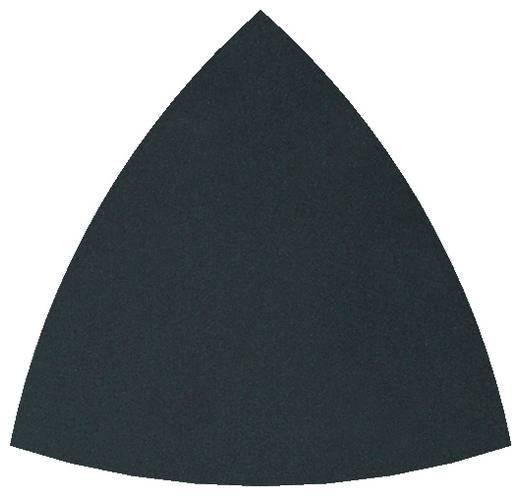 Schleifpapier für Handschleifer mit Klett, ungelocht Körnung 280, 400 Eckmaß 95 mm Wolfcraft 5889000 5 St.
