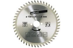 Lame de scie circulaire Wolfcraft 6431000 Diamètre: 210 mm Nombre de dents (par pouce): 64