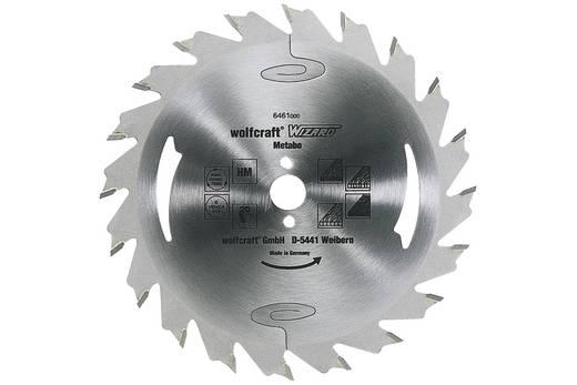 Hartmetall Kreissägeblatt 156.5 x 12.75 mm Zähneanzahl: 24 Wolfcraft 6466000 1 St.