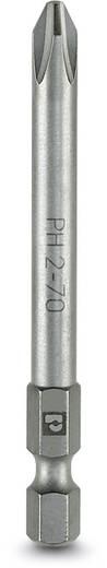 Kreuzschlitz-Bit PH 2 Phoenix Contact SF-BIT-PH 2-70 Werkzeugstahl zähhart, legiert E 6.3 5 St.