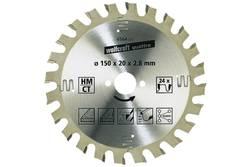 Lame de scie circulaire Wolfcraft 6567000 Diamètre: 160 mm Nombre de dents (par pouce): 24