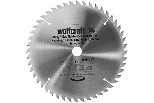 Hartmetall Kreissägeblatt 250 x 30 mm Zähneanzahl: 42 Wolfcraft 6680000 1 St.
