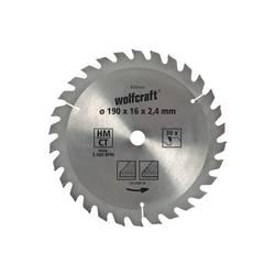 Wolfcraft 6730000 Průměr: 130 mm Počet zubů (na palec): 18