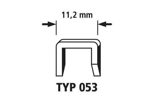 1000 Breitrückenklammern 1000 St. Wolfcraft 7045000 Klammern-Typ 053 Abmessungen (B x H) 11.2 mm x 14 mm