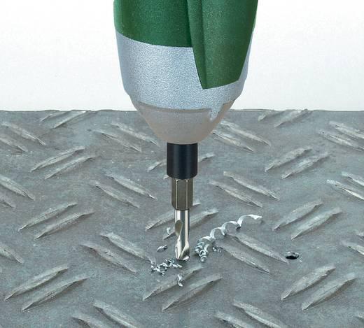 """HSS Metall-Spiralbohrer 5 mm Wolfcraft 7259000 Gesamtlänge 59 mm geschliffen DIN 338 1/4"""" (6.3 mm) 1 St."""