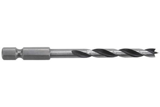 """Holz-Spiralbohrer 5 mm Wolfcraft 7263000 Gesamtlänge 85 mm 1/4"""" (6.3 mm) 1 St."""