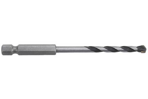 """Hartmetall Stein-Spiralbohrer 4 mm Wolfcraft 7265000 Gesamtlänge 80 mm 1/4"""" (6.3 mm) 1 St."""