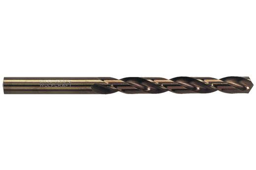 HSS Metall-Spiralbohrer 3 mm Wolfcraft 7445010 Gesamtlänge 61 mm Cobalt DIN 338 Zylinderschaft 1 St.
