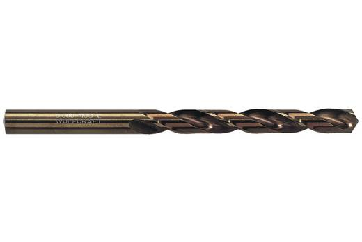 HSS Metall-Spiralbohrer 4.5 mm Wolfcraft 7452010 Gesamtlänge 80 mm Cobalt DIN 338 Zylinderschaft 1 St.