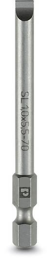 Schlitz-Bit 4 mm Phoenix Contact SF-BIT-SL Werkzeugstahl zähhart, legiert E 6.3 5 St.