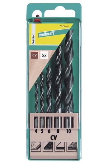 Holz-Spiralbohrer-Set 5teilig Wolfcraft 7625000 Zylinderschaft 1 Set