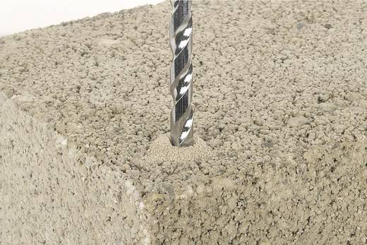 Hartmetall Stein-Spiralbohrer 6 mm Wolfcraft 7706010 Gesamtlänge 100 mm Zylinderschaft 1 St.