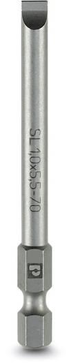 Schlitz-Bit 4 mm Phoenix Contact SF-BIT-SL 0,8X4,0-70 Werkzeugstahl zähhart, legiert E 6.3 5 St.