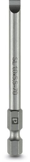 Schlitz-Bit 5.5 mm Phoenix Contact SF-BIT-SL 1,0X5,5-70 Werkzeugstahl zähhart, legiert E 6.3 5 St.
