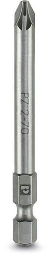 Kreuzschlitz-Bit PZ 1 Phoenix Contact SF-BIT-PZ 1-50 Werkzeugstahl zähhart, legiert E 6.3 5 St.