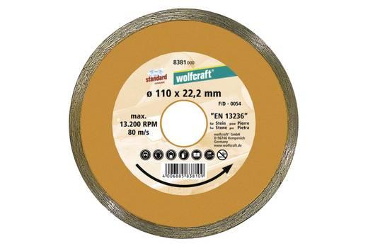 """Diamant-Trennscheibe """"Standard-Ceramic"""" Wolfcraft 8381000 Durchmesser 110 mm 1 St."""