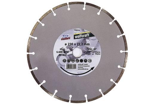 """Diamant-Trennscheibe """"Standard-Universal"""" Wolfcraft 8386000 Durchmesser 125 mm 1 St."""