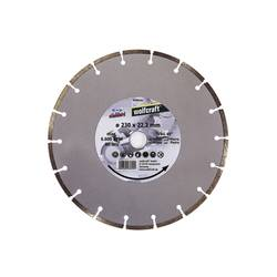 "Diamantový rezací kotúč ""Standard Universal"" Wolfcraft 8389000, Priemer 230 mm, 1 ks"