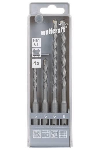 Hartmetall Hammerbohrer-Set 4teilig Wolfcraft 8456000 SDS-Plus 1 Set