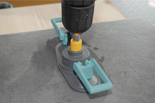 Fliesenbohrer 4teilig Wolfcraft 1 diamond drill set 8771000 Zylinderschaft 1 Set