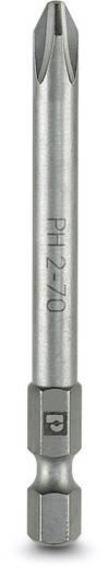 Kreuzschlitz-Bit PH 1 Phoenix Contact SF-BIT-PH 1-70 Werkzeugstahl zähhart, legiert E 6.3 5 St.