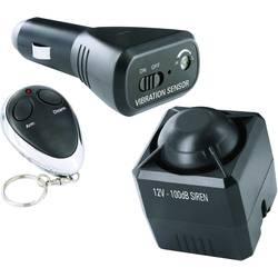 Alarm do auta Smartwares vr. diaľkového ovládania, monitorovanie interiéru, otrasový senzor, 12 V