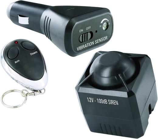 Auto Alarmanlage Universelle Autoalarmanlage ELRO Inkl. Fernbedienung, Innenraumüberwachung, Erschütterungssensor 12 V