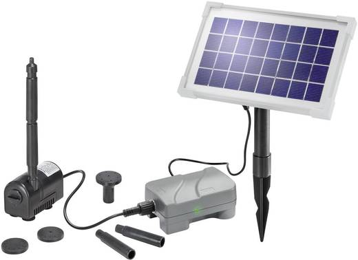 Solar-Pumpenset mit Akkuspeicher 175 l/h Esotec Rimini Plus 101709