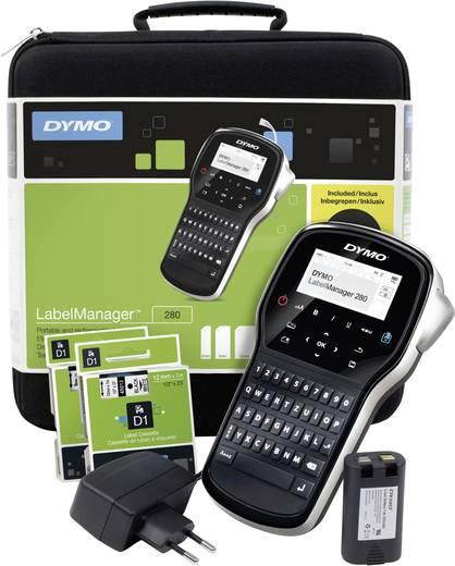 Beschriftungsgerät DYMO LabelManager 280 Koffer-Set Geeignet für Schriftband: D1 6 mm, 9 mm, 12 mm
