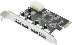 PCIe karta USB 3.0 Renkforce RF-4821054, 4 porty