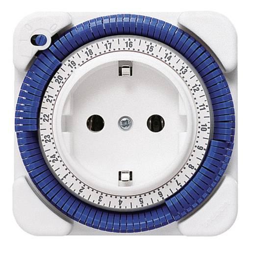 Steckdosen-Zeitschaltuhr analog Tagesprogramm Theben 260030 3500 W IP20