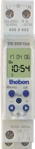 Hutschienen-Zeitschaltuhr Theben 4187127