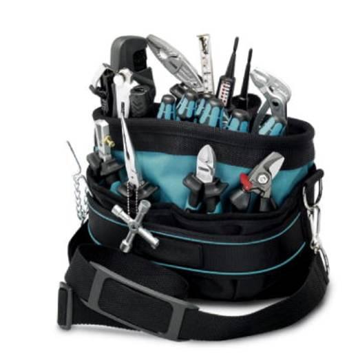 Profi Werkzeugtasche bestückt 22teilig Phoenix Contact TOOL-CARRIER 1212503