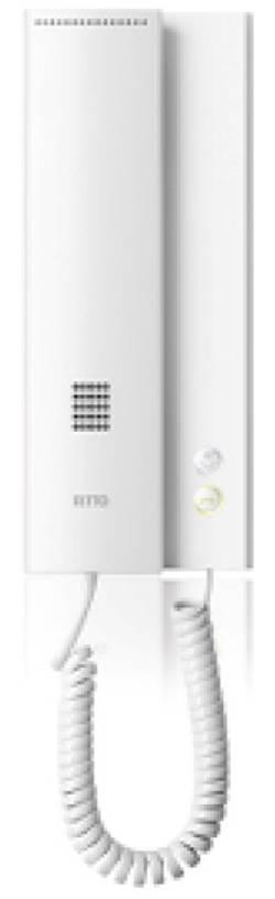Kabelový domovní telefon Ritto by Schneider 17630/70 17630/70, bílá