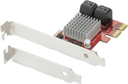 0+4 Port SATA III-Controllerkarte PCIe Renkforce
