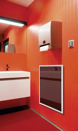 Infrarotheizung 300 W 6 m² Schwarz Glas