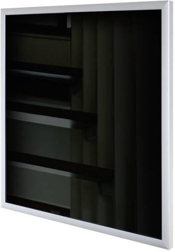 Glas Infrarotheizung 600 W 11 m² Schwarz